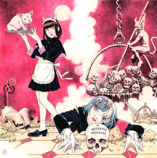 necronomidol-nemesis-album-cover